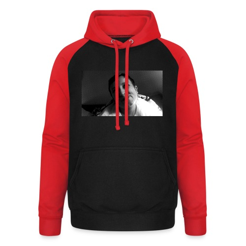 Basse Tshirt - Unisex baseball hoodie