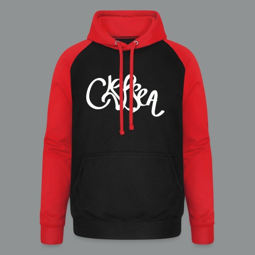 Kinder/ Tiener Shirt Unisex (rug) - Unisex baseball hoodie