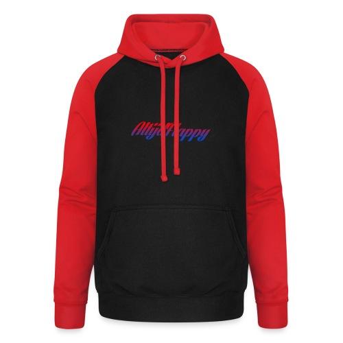 T-shirt AltijdFlappy - Unisex baseball hoodie