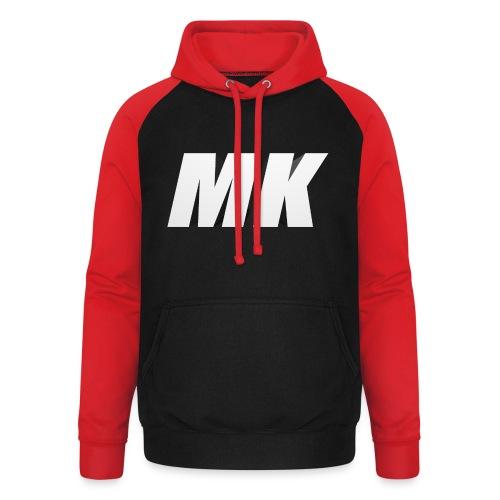 MK 3D - Unisex baseball hoodie