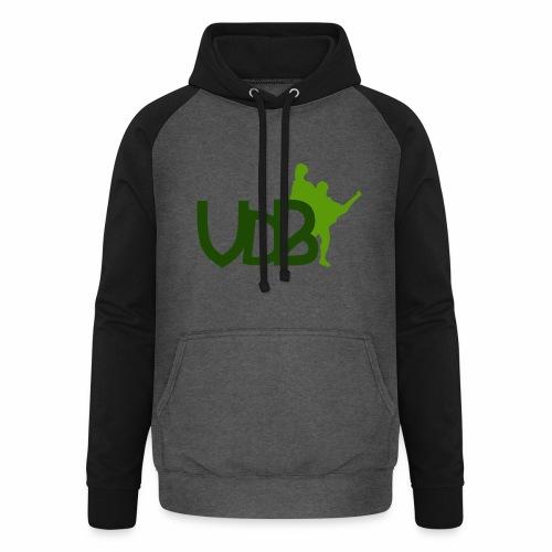 VdB green - Felpa da baseball con cappuccio unisex
