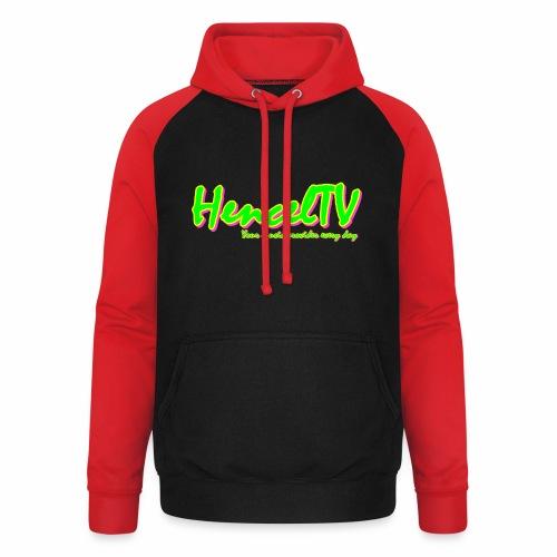 HencelTV - Unisex Baseball Hoodie