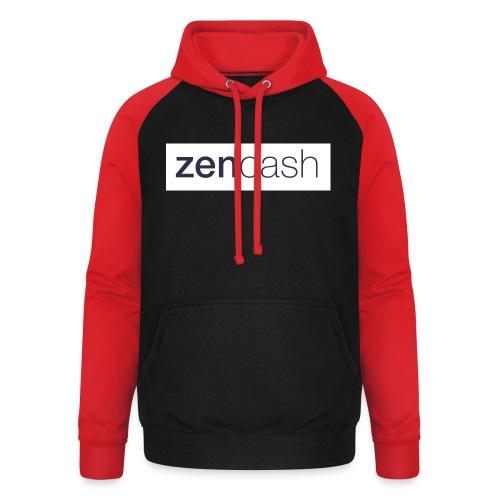 ZenCash CMYK_Horiz - Full - Unisex Baseball Hoodie