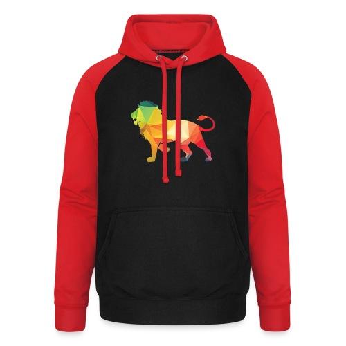 lion - Unisex baseball hoodie