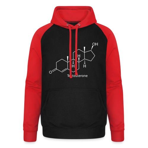 Testosterone - Bodybuilding, Crossfit, Fitness - Unisex Baseball Hoodie