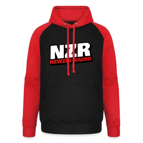 NZR - Sweat-shirt baseball unisexe