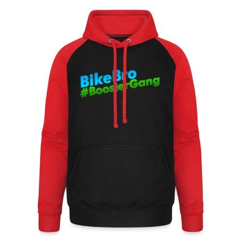 Bikebro #BoosterGang - Unisex baseball hoodie
