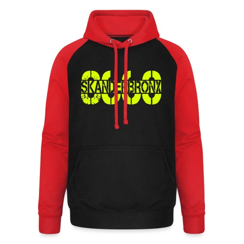 SKANDERBRONX - Unisex baseball hoodie