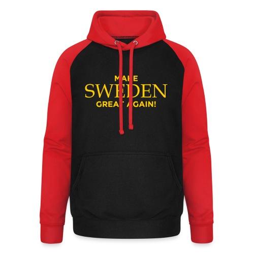 Make Sweden Great Again! - Basebolluvtröja unisex
