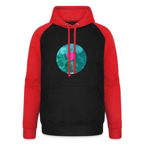 Flower power - Unisex baseball hoodie