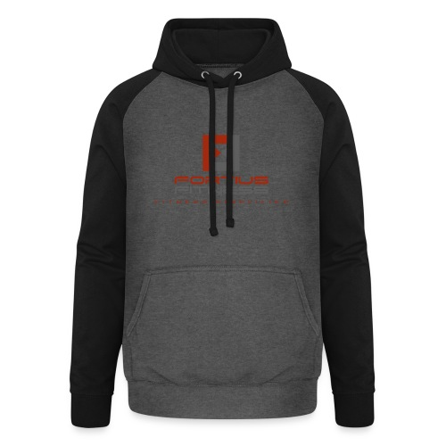 Fortius Fitness - Unisex baseball hoodie