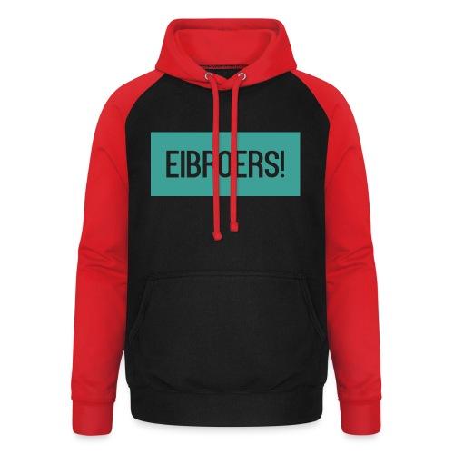 T-shirt Eibroers Naam - Unisex baseball hoodie