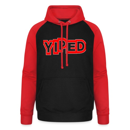 FIRST YIPED OFFICIAL CLOTHING AND GEARS - Unisex Baseball Hoodie