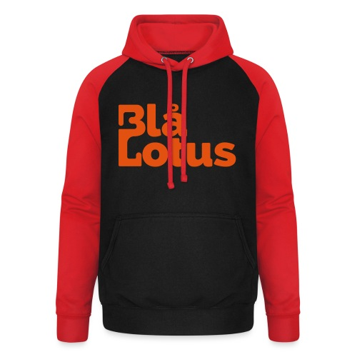Blå Lotus_logo - Basebolluvtröja unisex