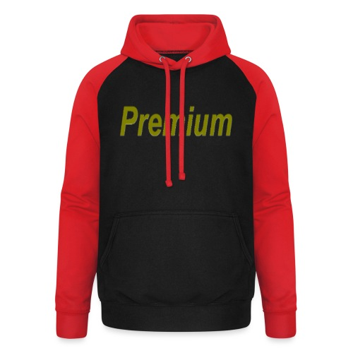 Premium - Unisex Baseball Hoodie