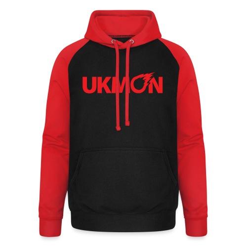 UKMON logo - Unisex Baseball Hoodie