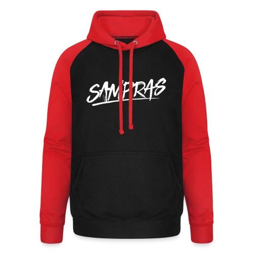 Sampras Logo - Unisex Baseball Hoodie