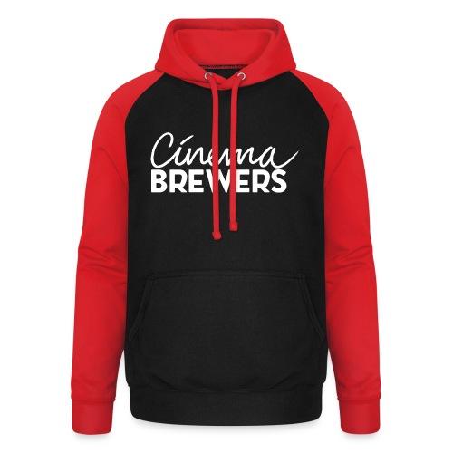 Cinema Brewers - Unisex baseball hoodie