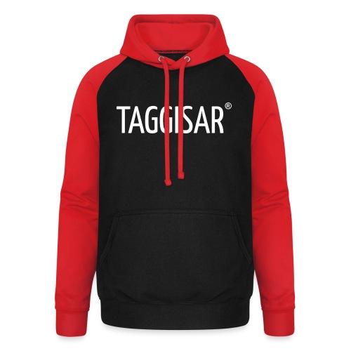 Taggisar Logo - Basebolluvtröja unisex