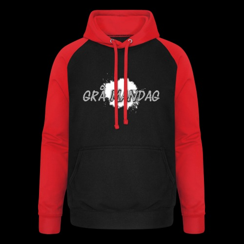 Grå Mandag - Unisex baseball hoodie
