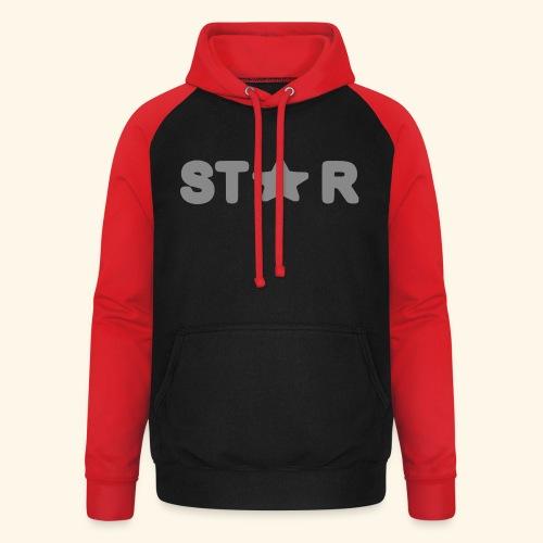 Star of Stars - Unisex Baseball Hoodie