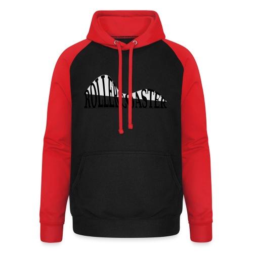 envelope_coaster - Unisex baseball hoodie