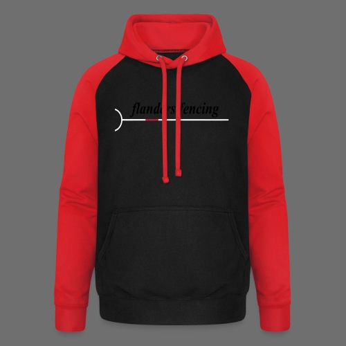 Flanders Fencing - Unisex baseball hoodie