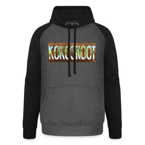 Kokosnoot - Unisex baseball hoodie