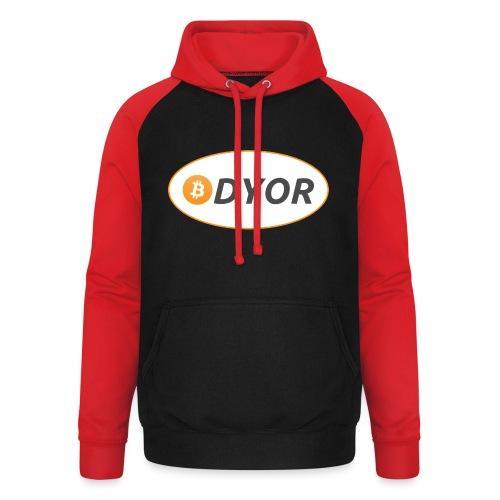 DYOR - option 2 - Unisex Baseball Hoodie