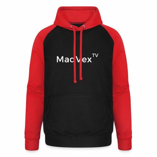 MadVexTV Schriftzug - Unisex Baseball Hoodie