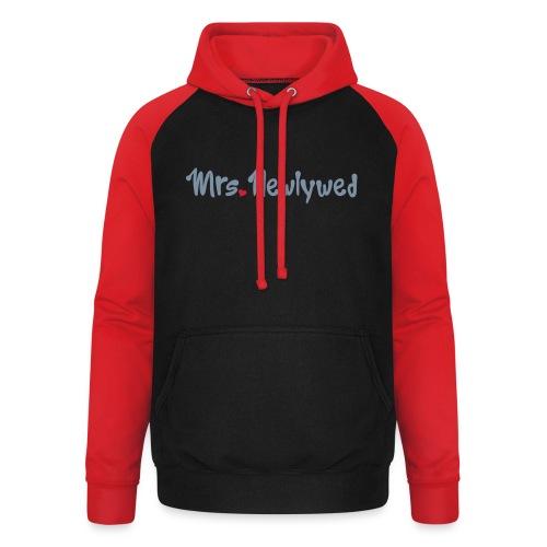 Mrs Newlywed - Unisex Baseball Hoodie