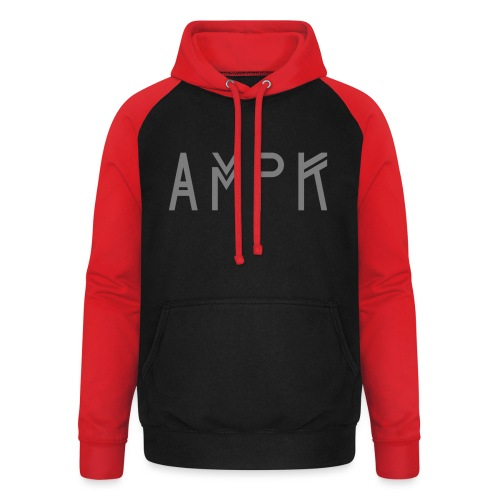 AMPKTechDarkGrey - Unisex Baseball Hoodie