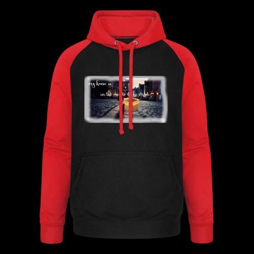 HOUSE SERIES - Unisex baseball hoodie