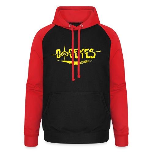 Dogeyes Logo - Unisex Baseball Hoodie