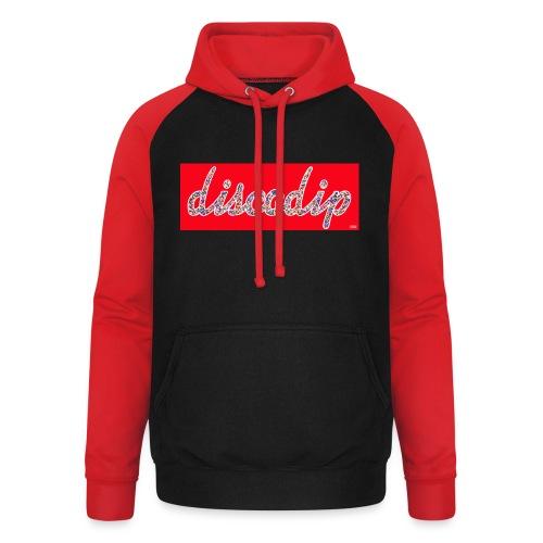 DISCODIP - Unisex baseball hoodie