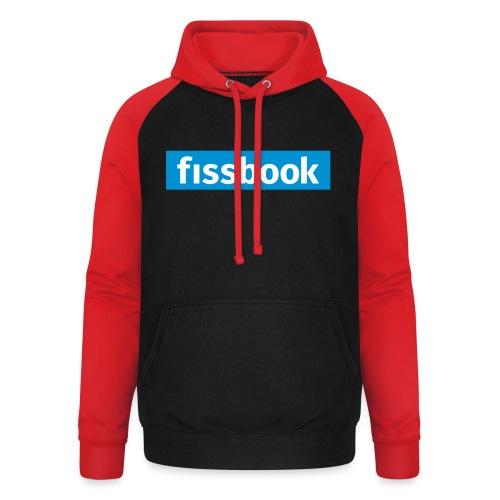 Fissbook Derry - Unisex Baseball Hoodie