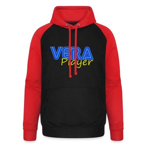 Vera player shop - Sudadera con capucha de béisbol unisex