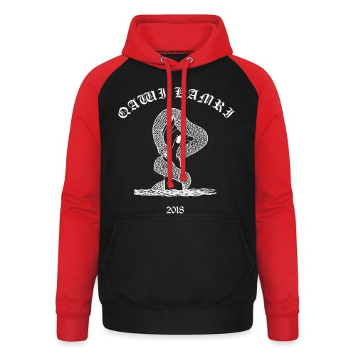 Bite Of A Serpent - Unisex Baseball Hoodie
