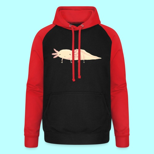 Axolotl - Unisex Baseball Hoodie