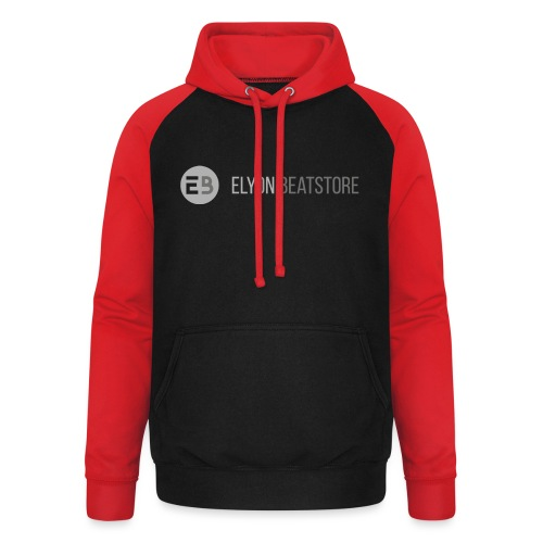 ElyonBeatstore Logo - Unisex baseball hoodie