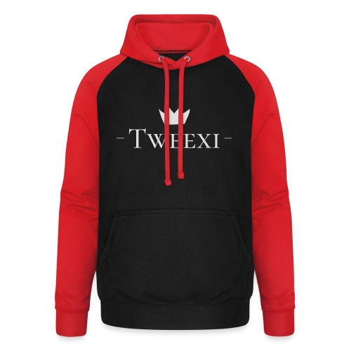 Tweexi logo - Basebolluvtröja unisex