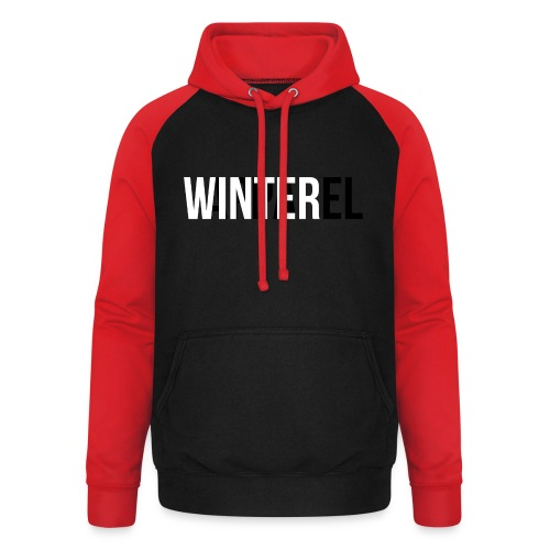 Winter Apparel Logo - Unisex baseball hoodie