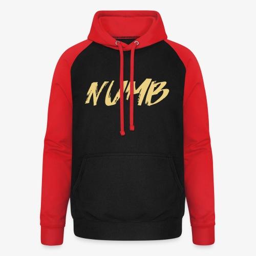 NUMB - Unisex baseball hoodie