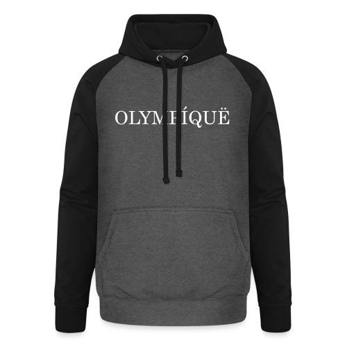 OLMPQ - Unisex baseball hoodie