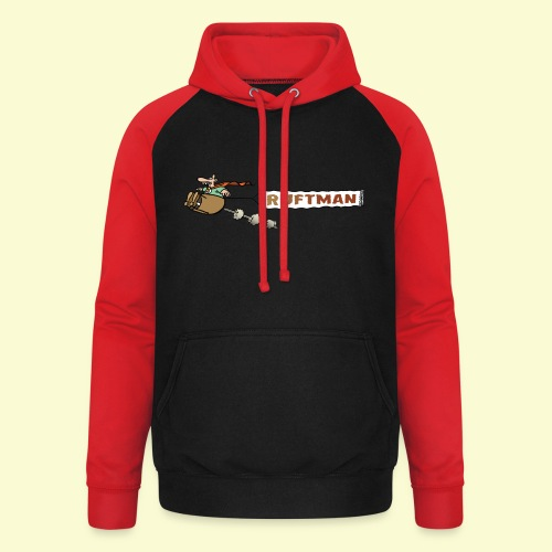 DIRKJAN Rruftman - Unisex baseball hoodie