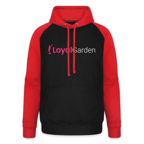 LG logo - Unisex baseball hoodie