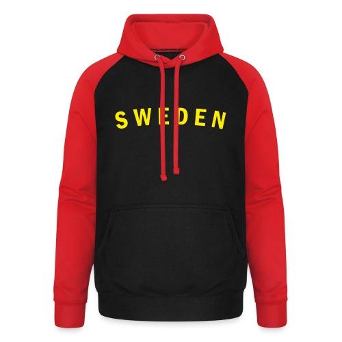 sweden - Basebolluvtröja unisex