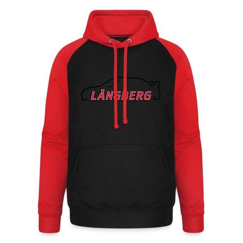 logotype Laengberg - Basebolluvtröja unisex