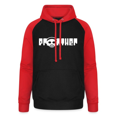 Pronther_Logo - Unisex Baseball Hoodie