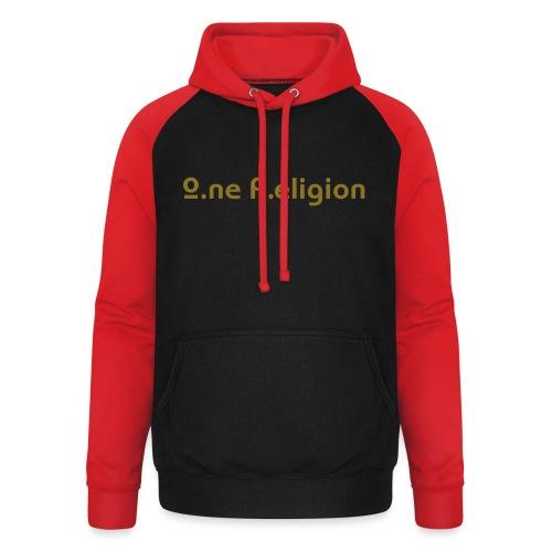 O.ne R.eligion Only - Sweat-shirt baseball unisexe